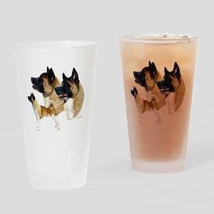 Akita Multi Drinking Glass