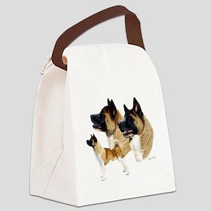 Akita Multi Canvas Lunch Bag
