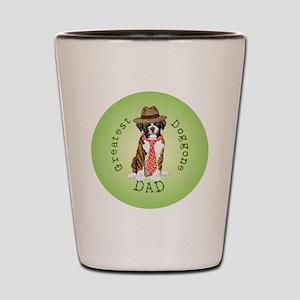 boxer dad-button2 Shot Glass