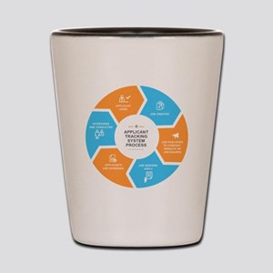 Applicant Tracking Process - HR Related Shot Glass