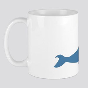 52 Hertz The Worlds Loneliest Whale Mug