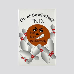 Dr. of Bowl-ology Rectangle Magnet