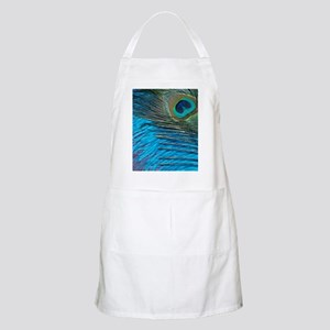 Purple and Teal Peacock Apron