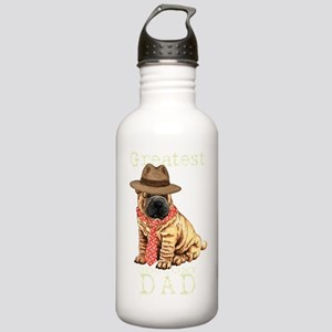 sharpei dad1T Stainless Water Bottle 1.0L