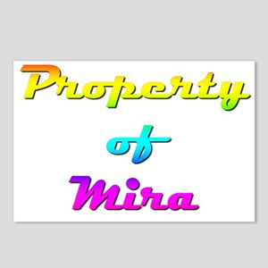 Property Of Mira Female Postcards (Package of 8)