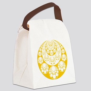 Abstract crescents Canvas Lunch Bag