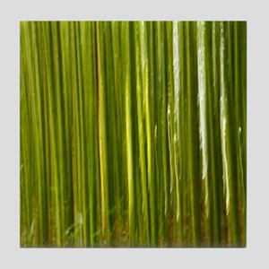Bamboo abstract Tile Coaster