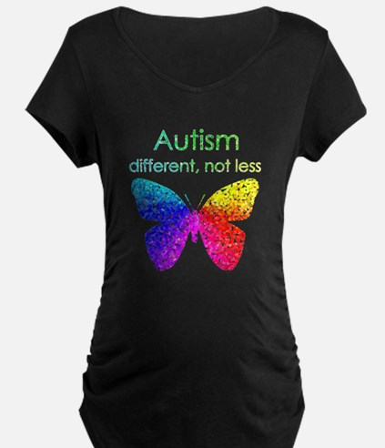 Autism Butterfly, different T-Shirt