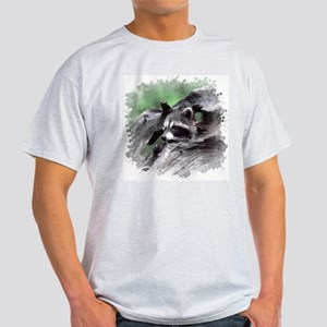 Raccoon Ash Grey T-Shirt