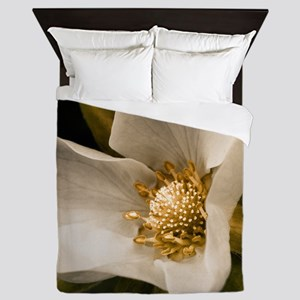 Strawberry flower Queen Duvet