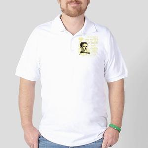 The Future Is Teslas Golf Shirt