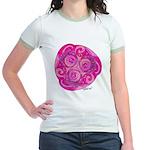 Celtic Rose TriSpiral Jr. Ringer T-Shirt
