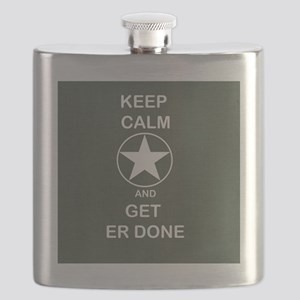 Keep Calm and Get ER Done Flask