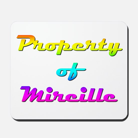 Property Of Mireille Female Mousepad