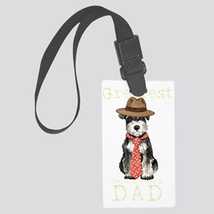 mini sch dad1T Large Luggage Tag