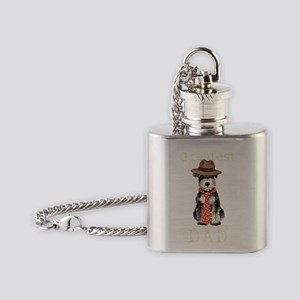mini sch dad1T Flask Necklace