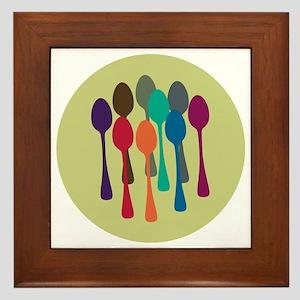 spoons-fl13 Framed Tile