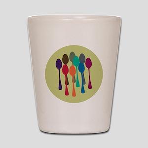 spoons-fl13 Shot Glass