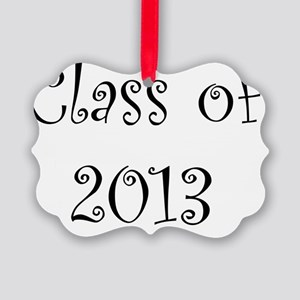 Class of 2013 Picture Ornament
