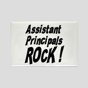Assistant Principals Rock ! Rectangle Magnet