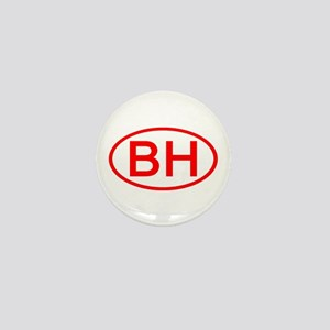 BH Oval (Red) Mini Button