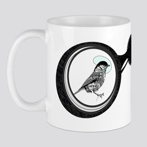 Binoculars - Birdwatching (with marsh t Mug