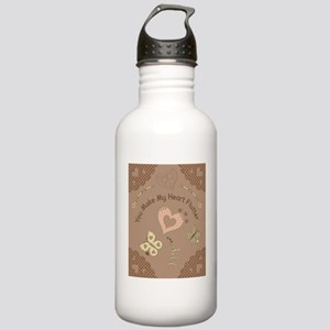 mh_puzzle Stainless Water Bottle 1.0L