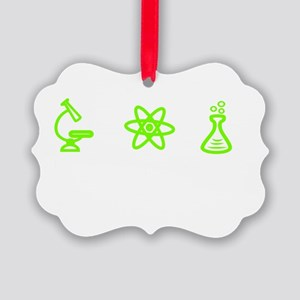 Im going to try science! Picture Ornament
