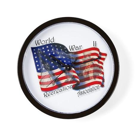 Wall Clock w/ WWIIRA logo