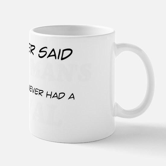 A Serval is man's real best friend Mug