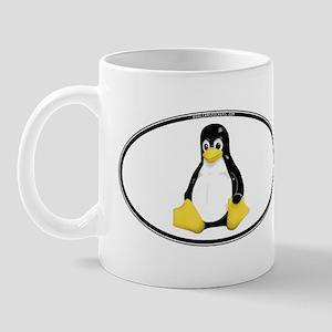 Tux Oval Mug