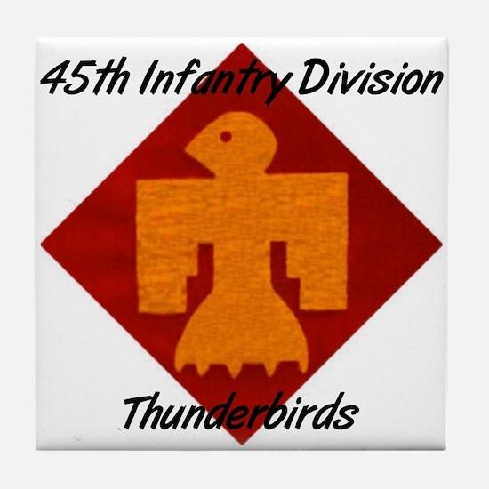 Tile Coaster w/ Thunderbird