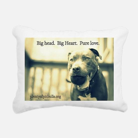 Boomer (pure love) Rectangular Canvas Pillow