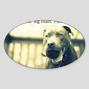 Boomer (pure love) Sticker (Oval)