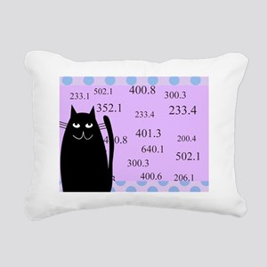 librarian cat blanket pu Rectangular Canvas Pillow