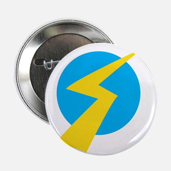 "Lightning Bolt 2.25"" Button"