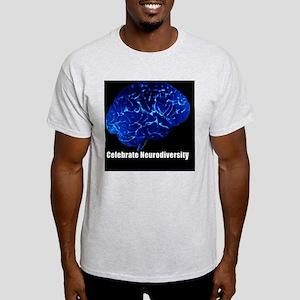 celebrate-neurodiversity-blue-frame Light T-Shirt