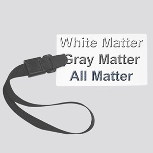All  Matters Large Luggage Tag