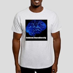 celebrate-neurodiversity-blue-sticke Light T-Shirt