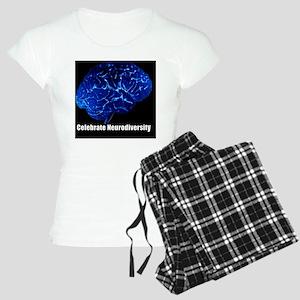 celebrate-neurodiversity-bl Women's Light Pajamas