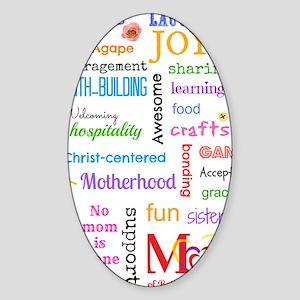 MOPS Sticker (Oval)