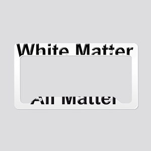 All Matters License Plate Holder