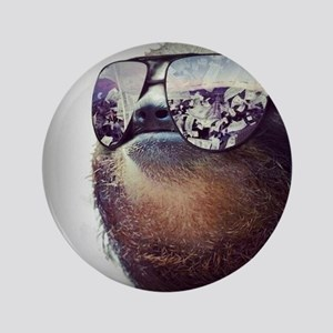 "Sloths  3.5"" Button"