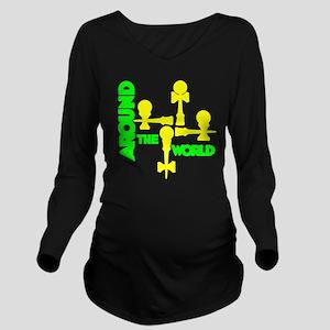 limeyellow ATW 5 Long Sleeve Maternity T-Shirt