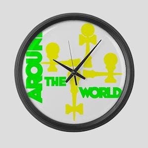 limeyellow ATW 5 Large Wall Clock