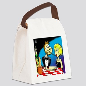 LADY  THE TRAMP Canvas Lunch Bag