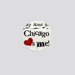 Aunt Chicago Mini Button