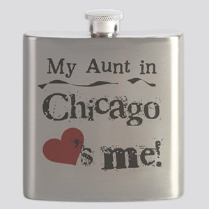 Aunt Chicago Flask