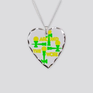 green2 ATW 6 Necklace Heart Charm