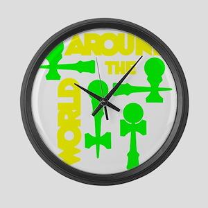 green2 ATW 7 Large Wall Clock